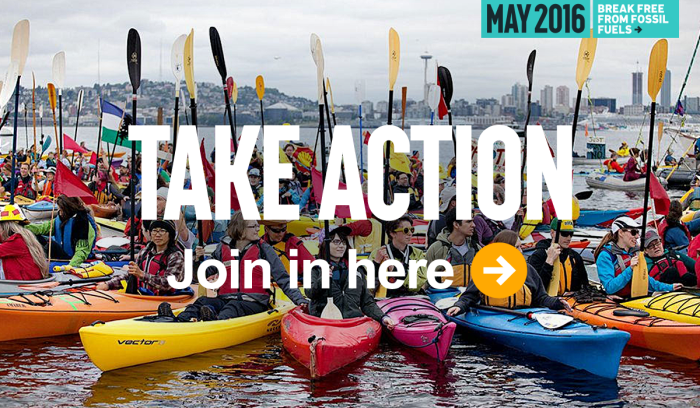 Take Action - Break Free from Fossil Fuels this week!