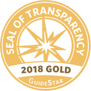 2018 Seal of Transparency from GuideStar.