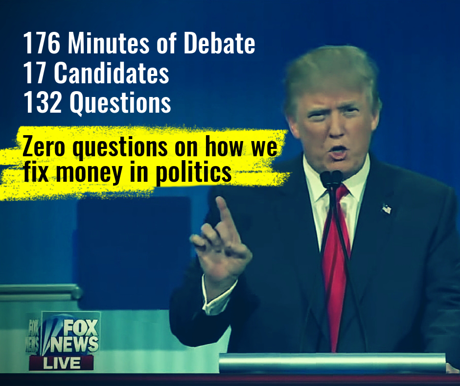 Fox News asks zero questions on how we fix money in politics